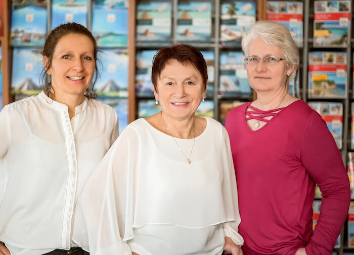 Zaměstnanci cestovní kanceláře Zittau