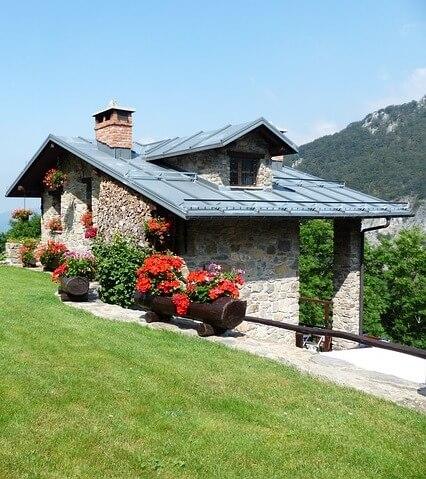 Ferienhäuser in den Bergen